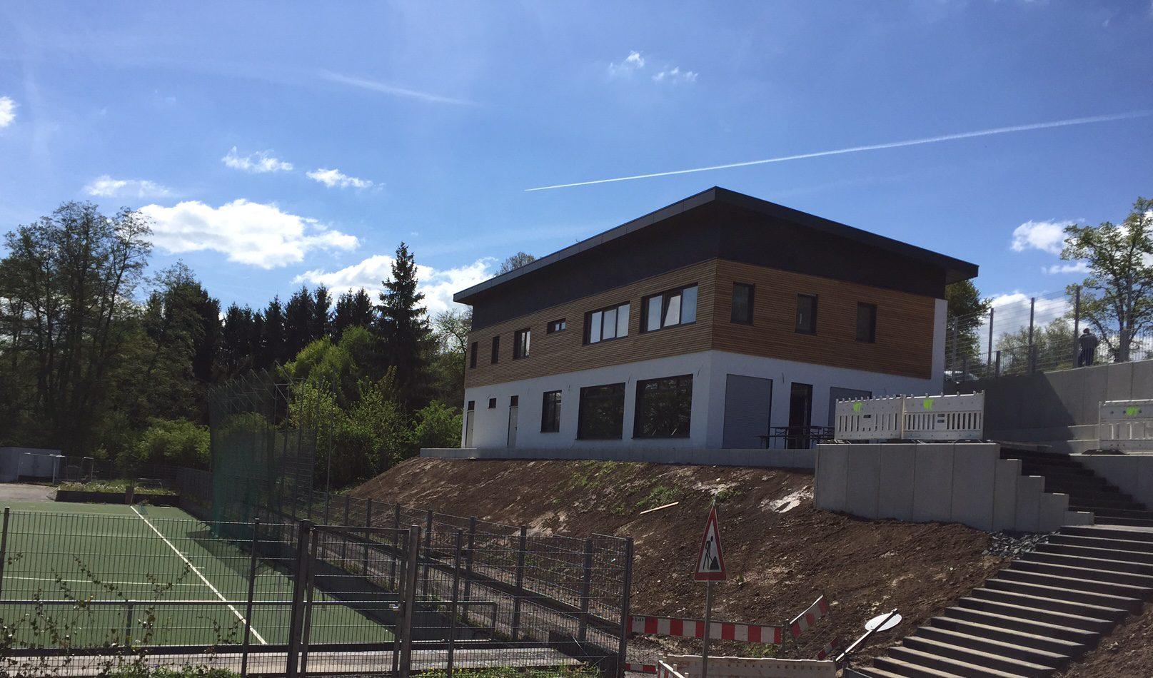 Im neuen Clubhaus vom Limburger HC finden unsere Mental-Coaching Sessions statt!