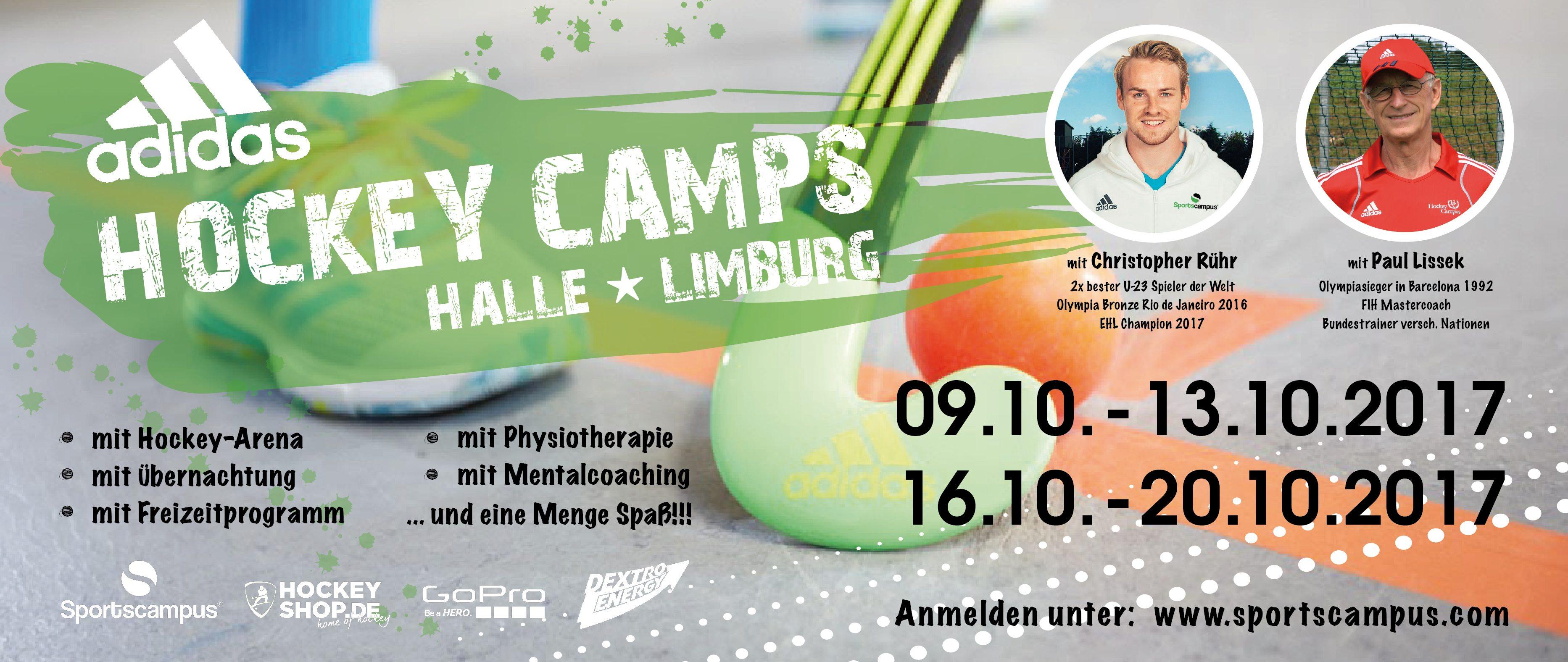 adidas Hallencamp in Limburg mit Christopher Rühr und Paul Lissek